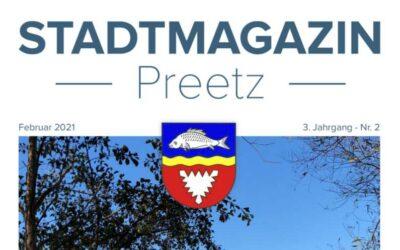forum > 7 präsentiert sich im Stadtmagazin Preetz